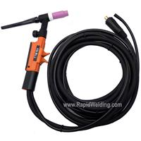 6271432 Kemppi TTM 15V - Scratch Start Tig Torch with 4m Cable.