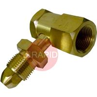 63A 90 DEGREE CYLINDER ADAPTOR RH