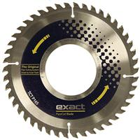 7010490 Exact TCT P165 Cutting Blade for cutting plastic