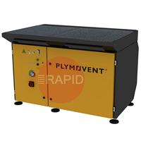 7244700000 Plymovent DraftMax Ultra Downdraft Extraction Table with automatic self-cleaning filter, 400v 3ph