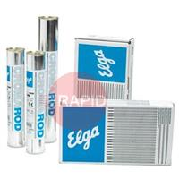 74384000 Elga Cromarod 312 4.0mm x 350mm, Stainless Electrodes. 9kg Carton (Contains 3 x 3.0kg 60piece Packs)