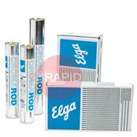 74465000 Elga Cromarod 318 5.0mm x 450mm Stainless Electrodes, 15kg Carton (Contains 3 x 5.0kg 46 piece Pack)