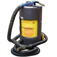 7603101400VP Plymovent PHV-I (IFA W3) Portable Welding Fume Extractor 230v, with 4m Binzel RAB Grip 355 Air Cooled Mig Fume Torch