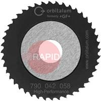 790041034 Orbitalum High-Performance Sawblade Ø 63 Cut Thickness 1.2mm - 2.5mm