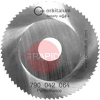 790043038 Orbitalum Performance Sawblade For RA6, RA8, R12 and GF20 AVM Ø 100 Cut Thickness 2.5mm - 5.5mm