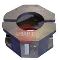 790047216 Aluminium Clamping Shell for RA 12, Tube OD 254mm