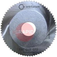 790048072 Orbitalum GF Performance Sawblade Ø 63 Cut Thickness 1mm - 3mm