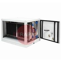 7941142000 Plymovent SFE-50 Stationary Filter Unit with Electrostatic Filter 5000 m³/h, 400v 3ph, Right - Left Airflow