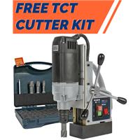 803045-0002 HMT Max-40 Magnet Drill - 240 Volt with FREE TCT Cutter Set