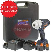 806050-0001 HMT VSD650 Heavy Duty Impact Wrench Kit with Free Gift