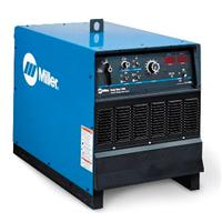 907364 Miller Gold Star 852 Arc Welder, 380/400/440 VAC. Comes without primary cord, running gear and digital meters.