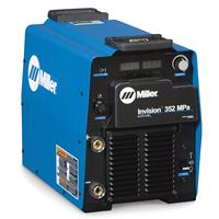 907431002AP Miller Invision 352 MPa Pulse Mig Welder Package with S-74 MPA Plus Wire Feeder and Pulse Programs, 208 - 575 VAC 3 Phase