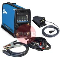 907514002APFD Miller Dynasty 280 DX AC/DC Tig Welder Package with CK TL 26 4m Torch & Foot Pedal, 208 - 575 VAC