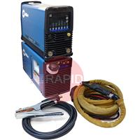 907514002WPFS Miller Dynasty 280 DX AC/DC Water Cooled Tig Welder Package with CK 230 4m Torch, 208 - 575 VAC