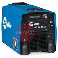 907525WP Miller XMT 450 CC/CV Water Cooled Mig Welder Package, 400v 3 phase