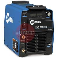 907558 Miller XMT 350 MPa Multiprocess Pulse Inverter Welder, 208 - 575 VAC, 3 Phase