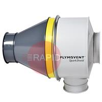 9760001020 Plymovent SparkShield-400 Spark Arrestor for Ø 400 mm Duct