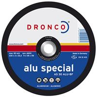 9AC 230mm (9 inch) DPC Aluminium Cutting Disc, 230 x 3 x 22.23mm