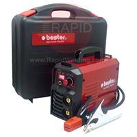B18256-1-P Lincoln Bester 155-ND MMA Inverter Arc Welder Suitcase Package - 230v, 1ph