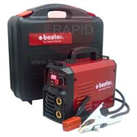 B18258-1-P Lincoln Bester 210-ND MMA Inverter Arc Welder Suitcase Package - 230v, 1ph