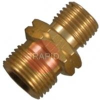 B45HCCL Hose Coupler G3/8 inch x G1/4 inch  Left Hand