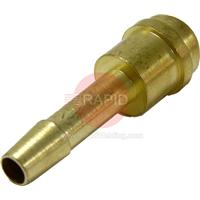 B45TC Hose Tail 1/4 inch (6mm) Bore for 3/8