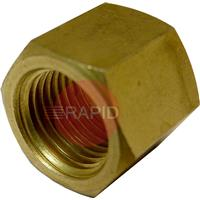 B45TN3/8R Union Nut G3/8'  Right Hand For Oxygen.