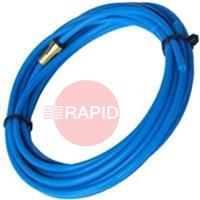 BL-TL-Blue-0.6-0.9 Binzel Teflon Liner Blue, 0.6mm - 0.9mm, for Soft Wire, 3m - 8m long