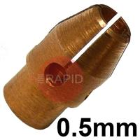 CK-7C20 0.50 mm CK Reverse Collet 4 Stubby Series