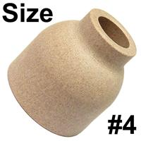 CK-8C4 CK Ceramic Cup Size #4, 6.4mm Bore, (1/4