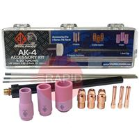 CK-AK4 CK Tig Torch Accessory Kit For CK20, CK200, CK230, FL230 (See Chart For Contents)