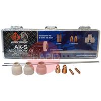CK-AK5 CK Tig Torch Accessory Kit For CK24, CK24W, CK80, CK90, CK180(See Chart For Contents)