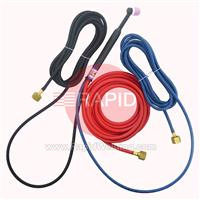 CK-CK24W12SF-CD CK Cut Down 180A Water Cooled Tig Torch with 3.8m (12ft) Superflex Cables