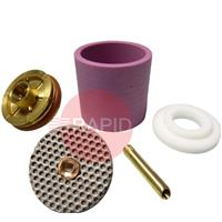 CK-D2GSXXXLDA CK 2 Series Large Diameter Gas Saver Kit, with Alumina Cup