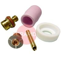 CK-D2GSXXX CK 2 Series Complete Front End Gas Saver Kit, Alumina Cup