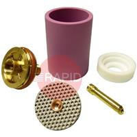 CK-D4GSXXXLDA CK 3 Series Large Diameter Gas Saver Kit, Alumina Cup