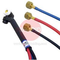 CK-FL2512SF CK Flex Loc FL250 3 Series Water Cooled Tig Torch with 3.8m Superflex Cables, 3/8