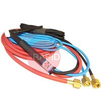CK-TL325SF CK TrimLine TL300 Water Cooled 350amp Tig torch, with 7.6m Superflex Cable, 3/8
