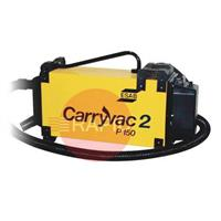 CV2P150AST ESAB CarryVac 2 AST Portable Fume Extractor with Auto Start/Stop