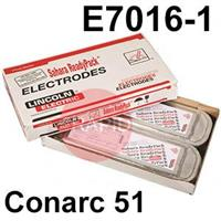 Conarc-51-SRP Lincoln Electric Conarc 51 Vacuum Sealed SRP Pack, Low Hydrogen Electrodes, E7016-1 H4R