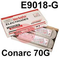 Conarc-70G-SRP Lincoln Electric Conarc 70G Vacuum Sealed SRP Pack, Low Hydrogen Electrodes, E9018-G-H4