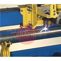 DHC6 Plasmacam Pipe Cutting Attachment. Cuts Tube From 30mm to 330mm Diameter.
