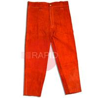 ESF24015X Red HR Leather Trouser