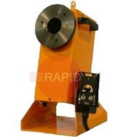 GP-350-M Gullco Rotary Weld Positioner. Programmable with 60mm Centre Hole