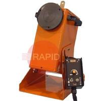 GPP-200-H Gullco Rotary Weld Positioner, High Speed (0.75 - 12.5 RPM) with Gas Purge