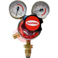 H1041 Harris Acetylene 896 Two Stage Two Gauge Regulator 1.5 Bar, 5/8