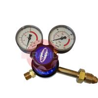 H1116 Harris 801B Regulator, Oxygen, Single Stage Gauge, Side Entry, 10bar, 5/8