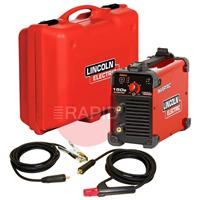 K12034-1-P Lincoln Invertec 150S DC Arc Welder - Suitcase Package 230v CE