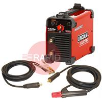 K12034-1P Lincoln Invertec 150S DC Arc Welder - Ready to Weld Package 230v CE