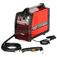 K12038-1 Lincoln Invertec PC210 Plasma Cutter. With inbuilt compressor. 10mm cut. 230v <font color='blue'>This machine is Shipped Free in Europe</font>